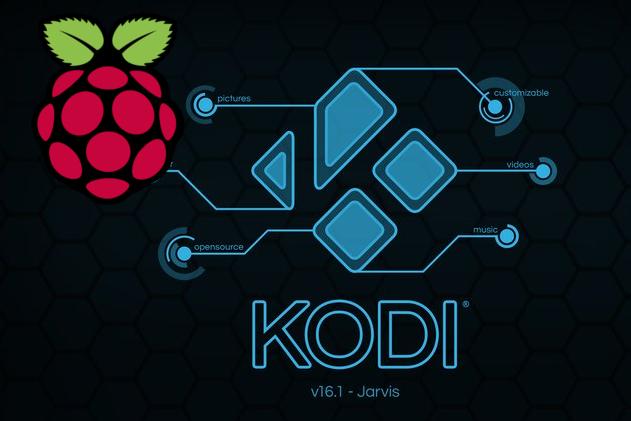Kodi su Raspberry Pixel