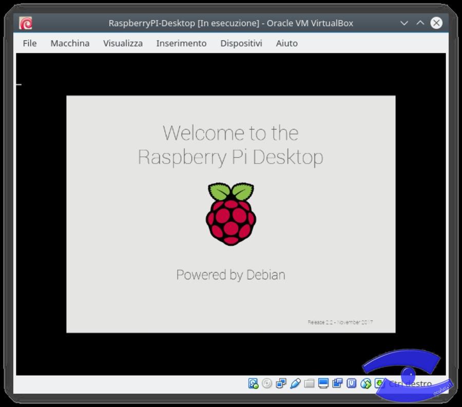 RaspberryPI-Desktop - Installiamolo in VirtualBox - OCULUS IT
