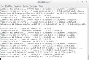 apt-get update Aggiornamento Debian Linux