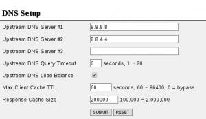 NxFilter - DNS Setup